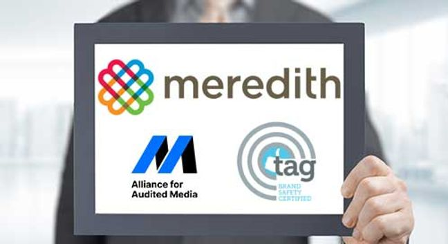Meredith Earns TAG Brand Safety Certification with AAM